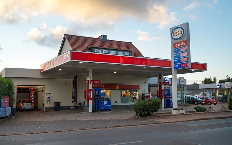 ESSO Tanskstelle in Lamspringe
